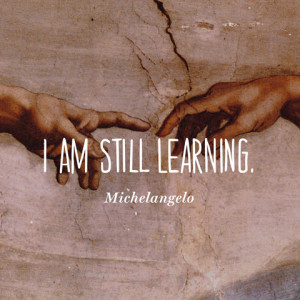 AM Still Learning Michelangelo