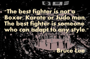 ... mixed martial arts on who is the best fighter the best fighter is not