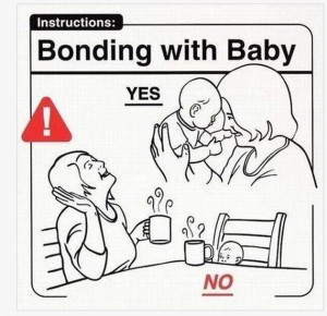 ... it turns out this is part of a book titled, Safe Baby Handling Tips