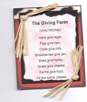 Poems About Life On The Farm