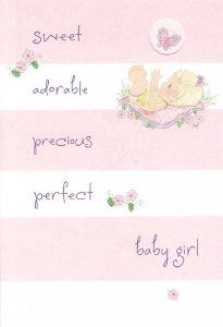 Baby Girl Precious Moments