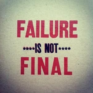 Failure quotes, afraid of failure quotes