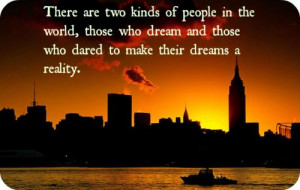 Short Quotes About Dreams And Ambitions
