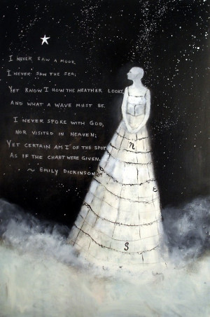Emily Dickinson. Add poetry and book quotes to photos. Add brush ...