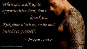 "Dwayne Johnson ""The Rock"" Quotes that Motivates You"