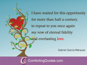 love quote by gabriel garcía márquez strong deep quote about love by ...