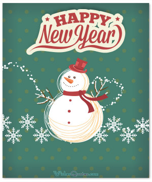 Cute Happy New Year Card Messages