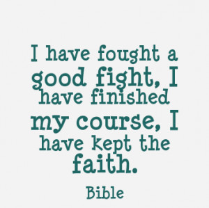 Quote About Faith Being Tested