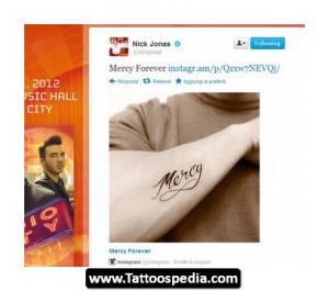Nick jonas diabetes quotes quotesgram for Nick jonas tattoo