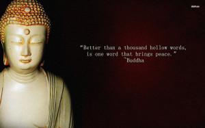 Buddha quote 1680 X 1050 HD Wallpaper