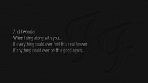 Quotes Grey Wallpaper 1366x768 Foo Fighters Picture