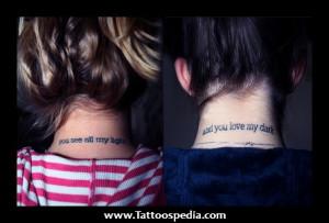 Cute Girl Tattoos On Shoulder » Lip Tattoos Gone Wrong