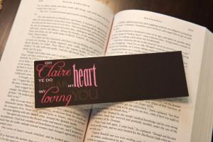 Book Accessories: Book Quote Bookmarks!
