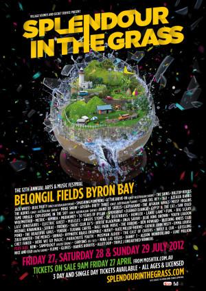 Splendour In The Grass 2012 – lineup announced