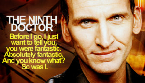 Christopher Eccleston; The Ninth Doctor