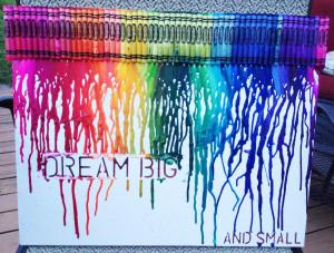 Shaped Crayon Art