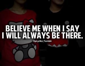 please believe me baby..