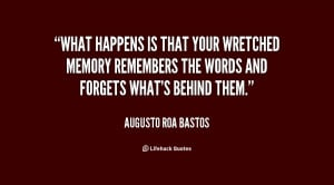 What happens is that your wretched memory remembers the words and ...