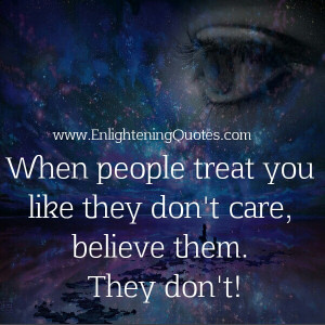 People who don't bother or even care for you, just wave them goodbye ...
