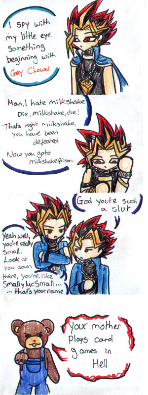 YuGiOh: Abridged Doodles 5:: by ApocalypseSakura
