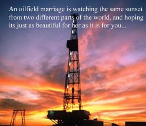 Oil field love so true! I look ur way every night & know its ...
