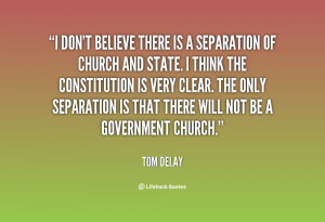 Quotes About Separation Of Church And State