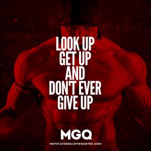 Look up, Get Up…