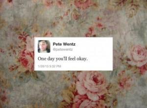 Pete Wentz | quote/tweet