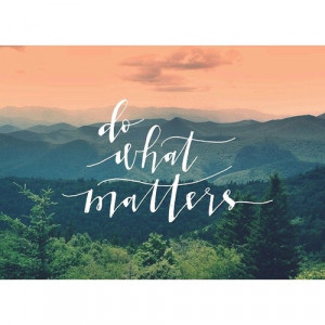 Live Your Life Quotes Tumblr: Do What Matters Live Your Life With ...