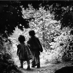 Eugene Smith The walk to paradise garden USA 1946