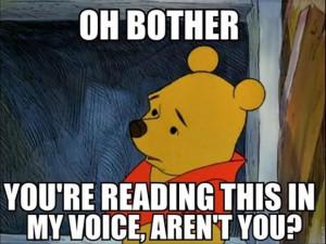 funny winnie the pooh