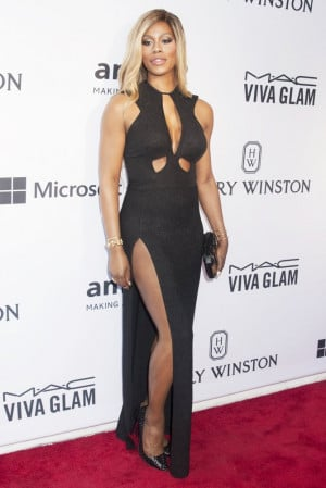 Laverne Cox Picture 76 2015 amfAR Inspiration Gala New York