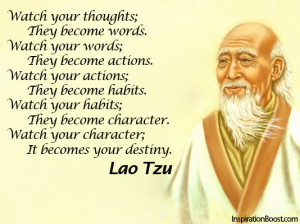 Best Lao Tzu Quotes on Thoughts