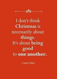 Christmas is about... #quotes