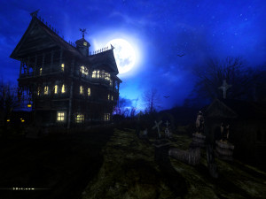 mansion wallpaper house savers forest haunted