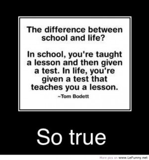 funny quotes and sayings about school