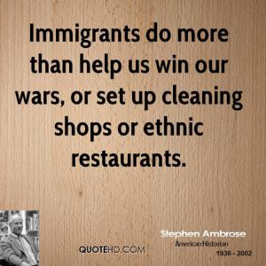 Stephen Ambrose Quotes