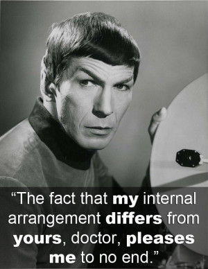 25 Absolute Best Spock Quotes by Leonard Nimoy