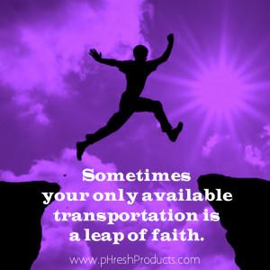 12 Leap-of-Faith