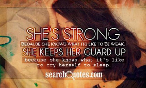 "sayings "" width=""500″ height=""400″ /> Shes Strong Because ..."