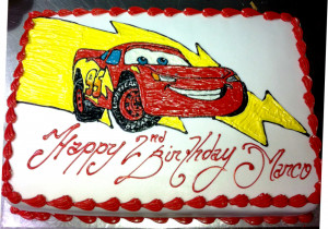 Lightning Mcqueen Car By Sobi Cakesdecorcom Cake On Pinterest ...