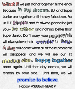 Happy anniversary Super Junior! ♥