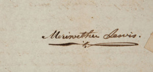 Meriwether Lewis and William Clark: The Only Known Document Bearingthe ...