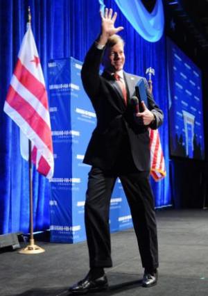 Virginia Gov. Bob McDonnell speaks at conservative conference in ...