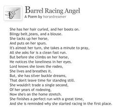 Barrel Racing Poems Or Quotes Quotesgram