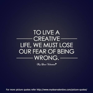 Creative life #quotes
