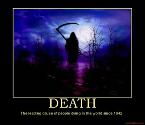 DEATH - The leading cause of people dying in the world since 1842 ...
