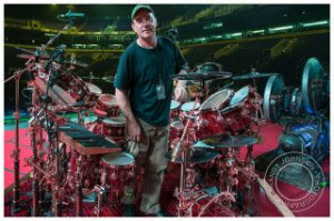 Famous pitcher Randy Johnson photographs Rush! How cool is that. And ...
