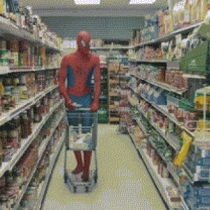 Spider-Man Breaks Down Shopping For Uncle Ben's Multi Grain Cereal