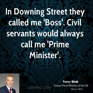 Tony Blair Quotes